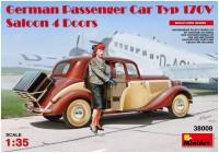 Фото - Сборная модель MiniArt German Passenger Car Typ 170V Saloon 4 Doors (1:35)