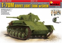 Сборная модель MiniArt T-70M Soviet Light Tank w/Crew (1:35)