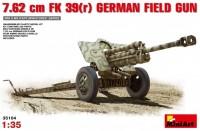 Сборная модель MiniArt 7.62 cm FK 39(r) German Field Gun (1:35)