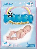 Подгузники Alike Mimzi Premium NB / 90 pcs