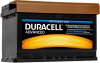 Фото - Автоаккумулятор Duracell Advanced (DA62H)