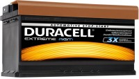 Фото - Автоаккумулятор Duracell Extreme AGM
