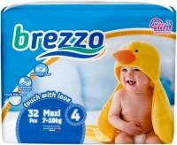 Подгузники Brezzo Diapers 4 / 32 pcs
