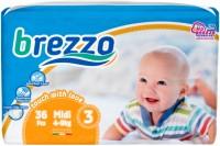 Подгузники Brezzo Diapers 3 / 36 pcs
