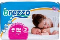 Подгузники Brezzo Diapers 2 / 40 pcs