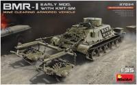 Сборная модель MiniArt BMR-I Early Mod. with KMT-5M (1:35)