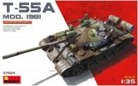 Фото - Сборная модель MiniArt T-55A Mod. 1981 37024 (1:35)