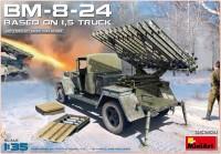 Сборная модель MiniArt BM-8-24 Bassed on 1.5 Truck (1:35)