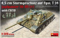 Сборная модель MiniArt Jagdpanzer SU-85 (r) with Crew (1:35)