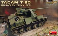 Сборная модель MiniArt Tacam T-60 Romanian 76-mm SPG (1:35)