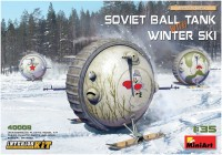 Фото - Сборная модель MiniArt Soviet Ball Tank with Winter Ski (1:35)