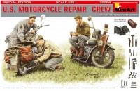 Сборная модель MiniArt U.S. Motorcycle Repair Crew (1:35)
