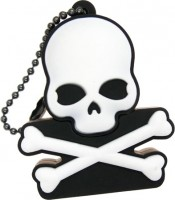 Фото - USB Flash (флешка) Uniq Pirate Symbol Skull and Bones  16 ГБ