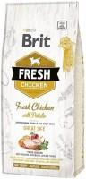 Корм для собак Brit Fresh Chicken with Potato Adult Great Life 2.5кг