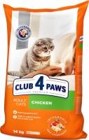 Корм для кошек Club 4 Paws Adult Chicken 14 kg 14кг