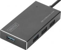 Картридер/USB-хаб Digitus DA-70240-1
