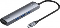 Картридер/USB-хаб BASEUS Mechanical Eye