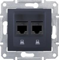 Розетка Schneider Sedna SDN4600170 черный