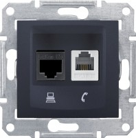 Розетка Schneider Sedna SDN5100170 черный