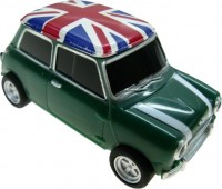 Фото - USB Flash (флешка) Uniq Car Mini Cooper Flag of Great Britain 3.0  64 ГБ
