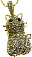 Фото - USB Flash (флешка) Uniq Animal Golden Kitty  32 ГБ