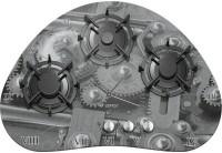 Варочная поверхность Gefest CH 2120 K1 серый