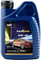 Моторное масло VatOil SynGold 0W-40 1л