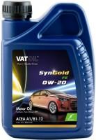 Моторное масло VatOil SynGold FE 0W-20 1л