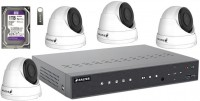 Комплект видеонаблюдения Balter KIT 2MP 4Dome