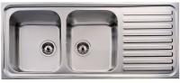 Кухонная мойка Teka Classic 2B 1D 1160x500мм