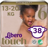 Подгузники Libero Touch Open 6 / 38 pcs