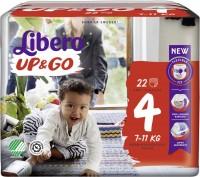 Подгузники Libero Up and Go 4 / 22 pcs