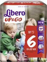 Подгузники Libero Up and Go 6 / 18 pcs