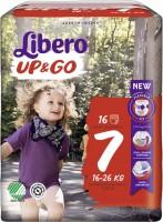 Подгузники Libero Up and Go 7 / 16 pcs