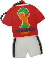 Фото - USB Flash (флешка) Uniq Football Uniform Brasil 2014  64 ГБ