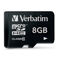 Карта памяти Verbatim microSDHC Class 10 8Gb