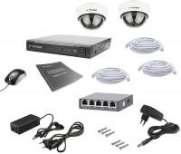 Фото - Комплект видеонаблюдения Tecsar IP 2DOME LUX