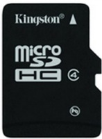 Карта памяти Kingston microSDHC Class 4 16Gb