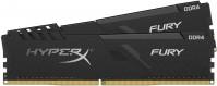 Оперативная память Kingston HyperX Fury Black DDR4 2x4Gb  HX424C15FB3K2/8