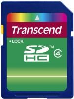 Карта памяти Transcend SDHC Class 4 8Gb
