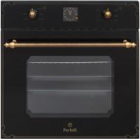 Фото - Духовой шкаф Perfelli BOE 6645 BL Antique Glass черный