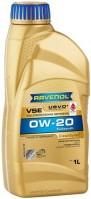 Моторное масло Ravenol VSE 0W-20 1л