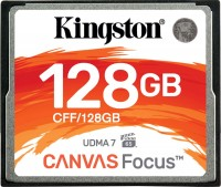 Карта памяти Kingston Canvas Focus CompactFlash  128 ГБ