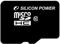 Карта памяти Silicon Power microSDHC Class 10 8Gb