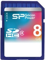 Карта памяти Silicon Power SDHC Class 4  8ГБ