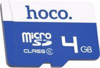 Карта памяти Hoco microSDHC Class 6  4ГБ