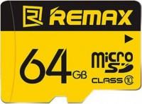 Карта памяти Remax microSDXC Class 10 UHS-I  64ГБ