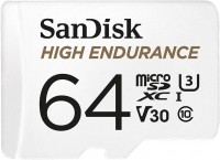 Карта памяти SanDisk High Endurance microSDXC U3  64ГБ