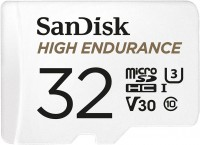 Фото - Карта памяти SanDisk High Endurance microSDHC U3  32ГБ