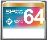 Карта памяти Silicon Power CompactFlash 600x  64ГБ